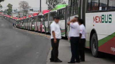 Mexibús: motociclista invade carril y muere atropellado en Ecatepec
