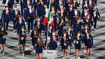 Así desfiló la delegación mexicana en la inuaguración de Tokio 2020
