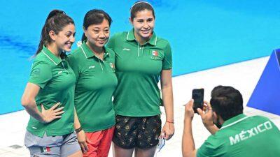AMLO aseguró que todos los mexicanos respaldarán a los atletas en Tokio 2020. Foto: AFP