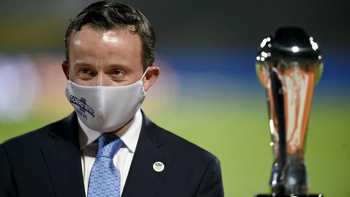 Mikel Arriola confirmó que dio positivo a las pruebas de coronavirus. Foto: AFP