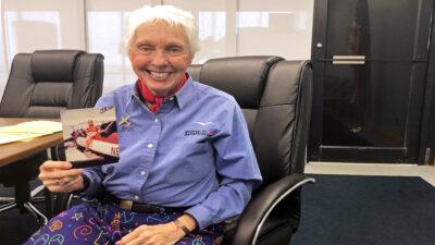 Wally Funk viajará con Jeff Bezos en el primer vuelo de Blue Origin
