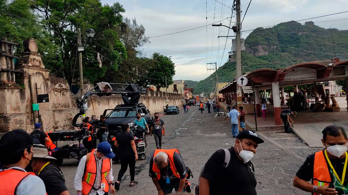 Morelos: graban serie SWAT en tres municipios
