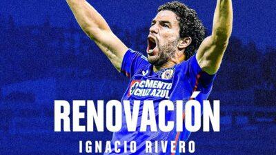 Nacho Rivero Cruz Azul