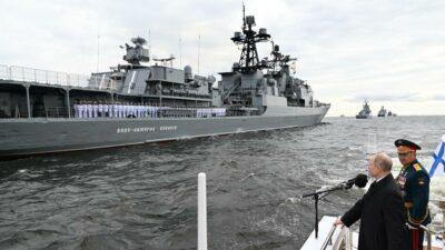 Putin flota rusa