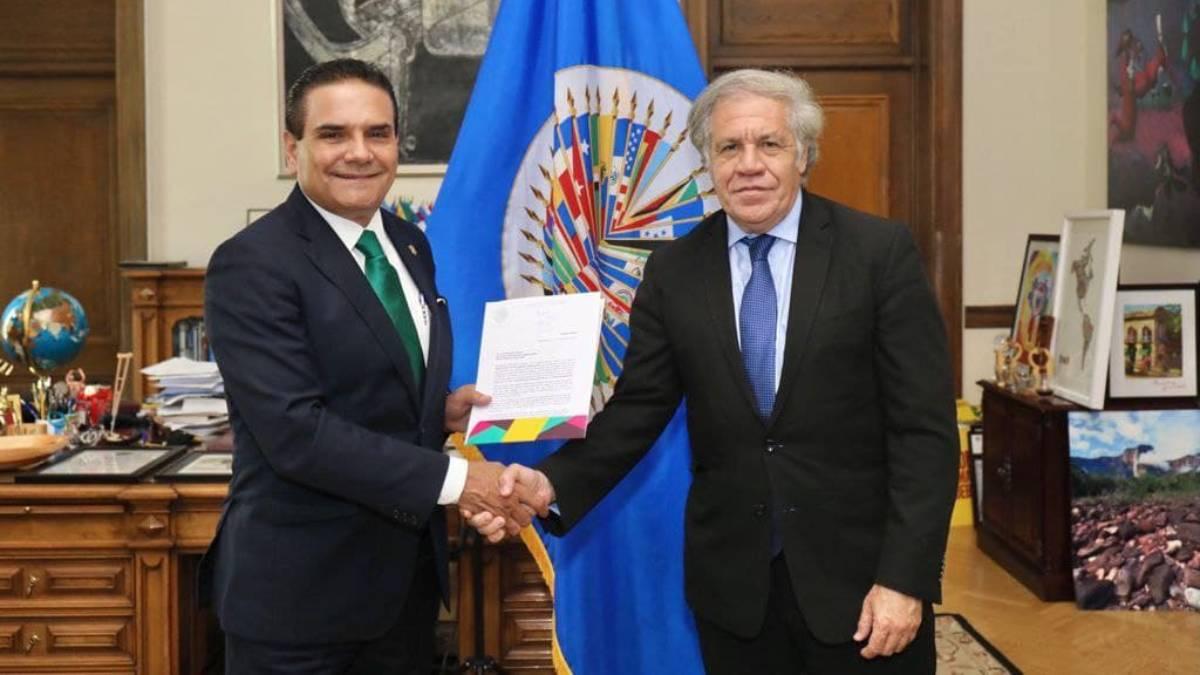 Silvano Aureoles OEA
