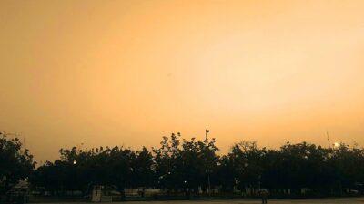 Polvo del Sahara llegó a Yucatán; ve imágenes