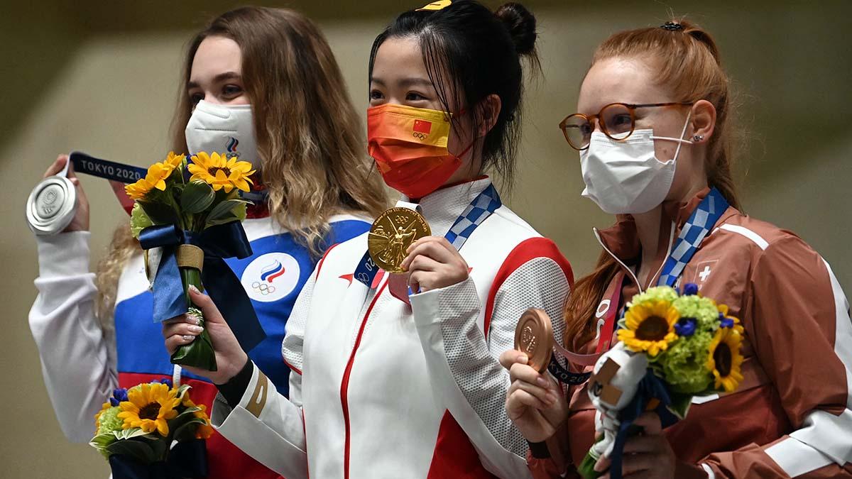 Qian Yang medallas