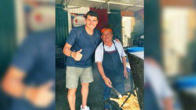Iker Casillas va a taquería de Quintana Roo y da tenis de propina