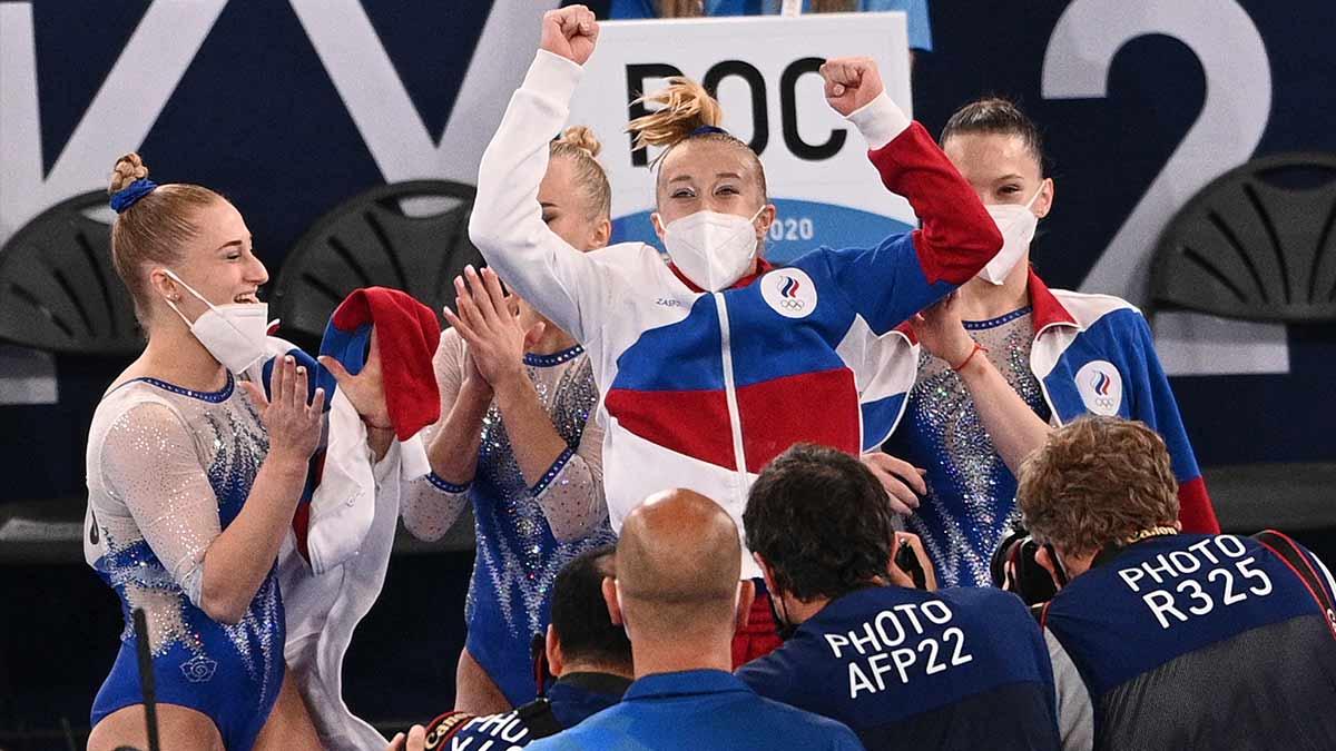 Rusia se lleva el oro en gimnasia artística