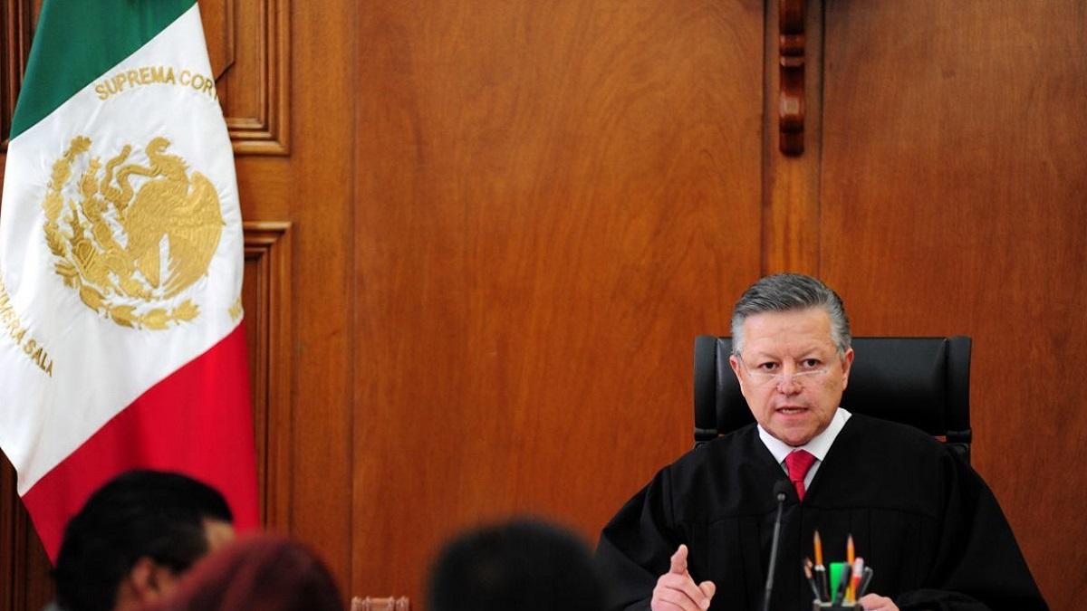 Arturo Zaldívar, ministro presidente de la SCJN, asegura que persiste la corrupción en tribunales