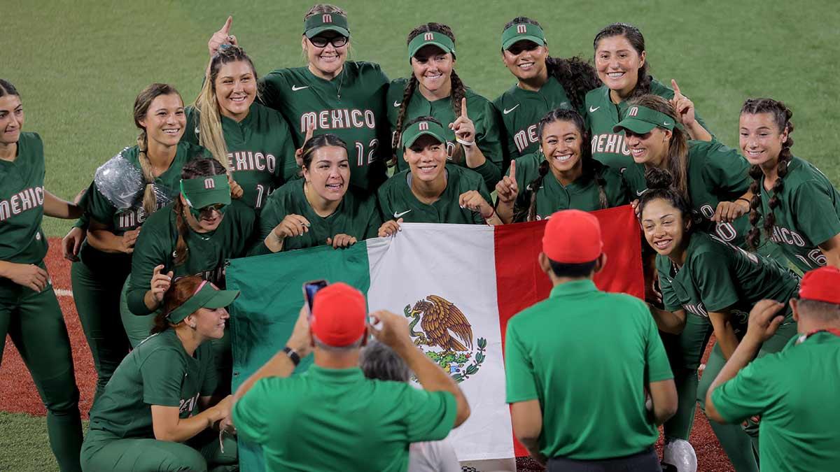 México va por el bronce, cómo ver en vivo el softbol femenil