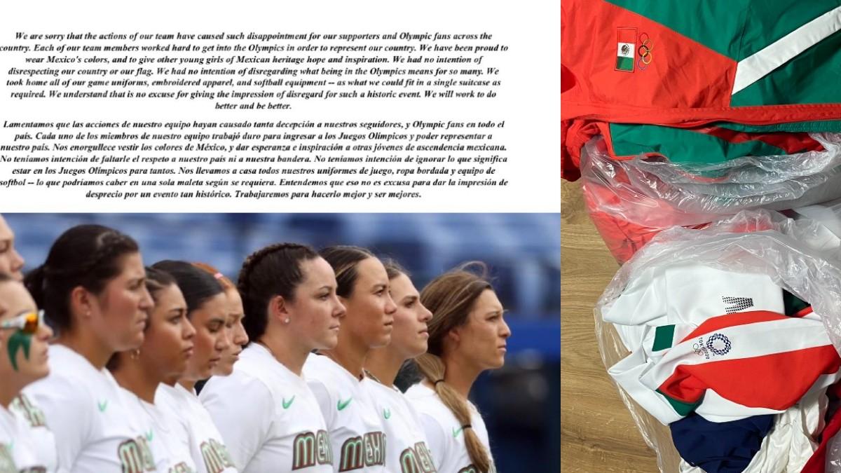 """""""No queríamos faltar el respeto"""": jugadoras de softbol se disculpan"""