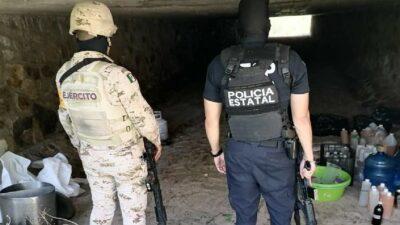 Sonora: Hallan dos narcolaboratorios al norte de Hermosillo