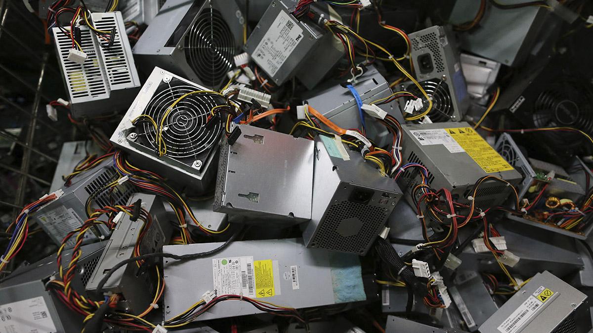 Basura electrónica, un desafío para México