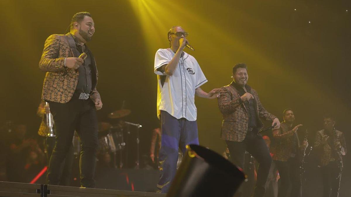 Banda MS y Snoop Dogg juntos, esto fue lo mejor del concierto