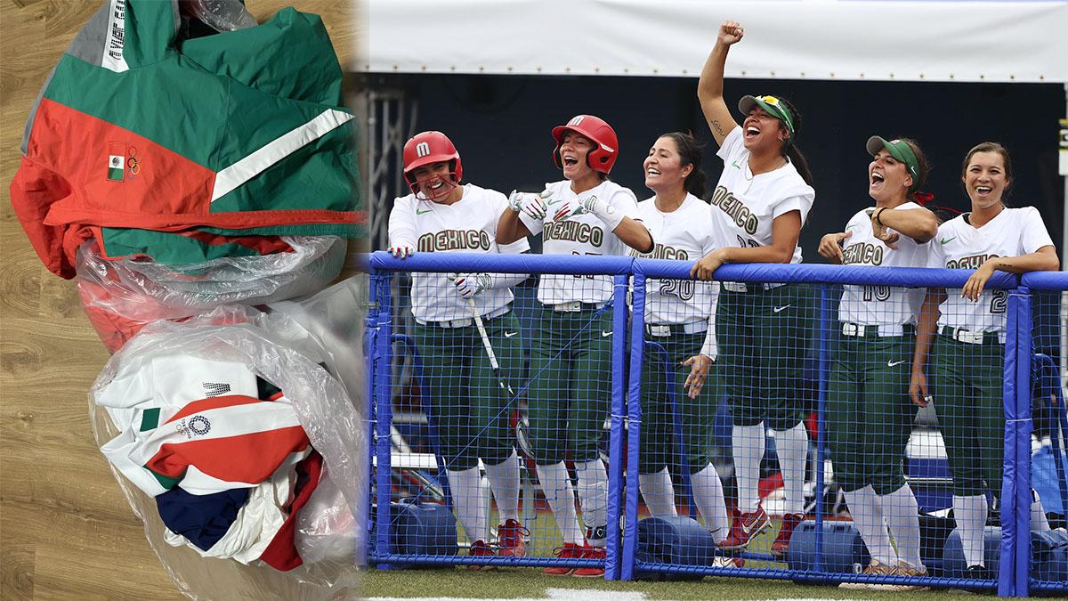 """Puede haber """"sanciones"""" por tirar uniformes de softbol a la basura en Tokio 2020"""