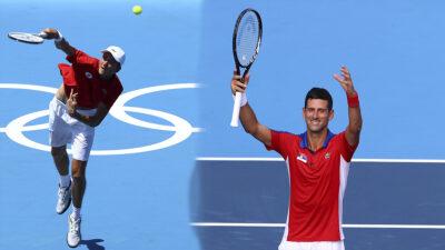 Djokovic y Medvedev debutan con triunfo en Tokio 2020