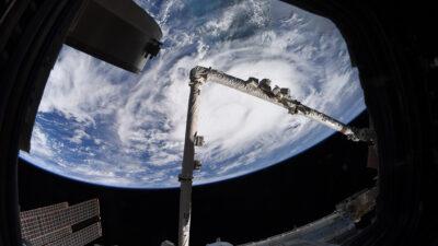 La tormenta Elsa golpea Cuba y así se ve desde el espacio
