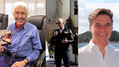 ¿Quiénes acompañarán a Jeff Bezos en su viaje espacial?