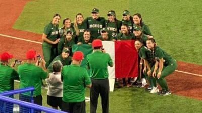 Tokio 2020: México derrota 5-0 a Italia en softbol femenil