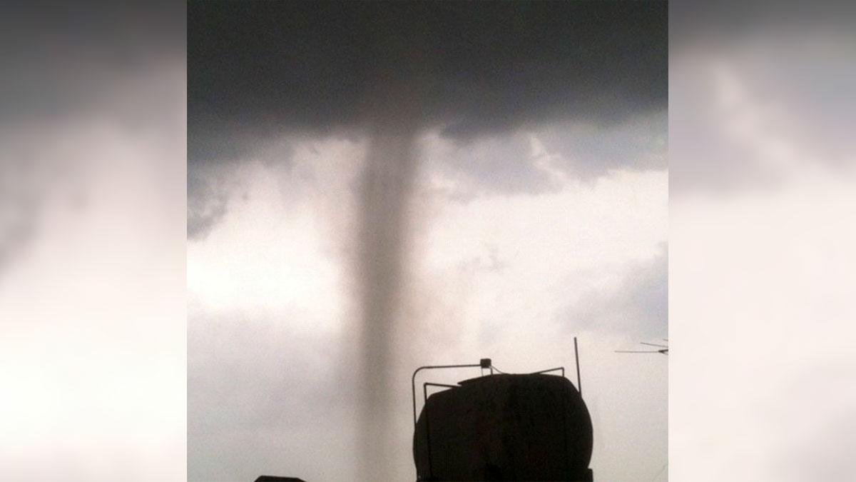 Tamaulipas: captan tornado gigante en Reynosa