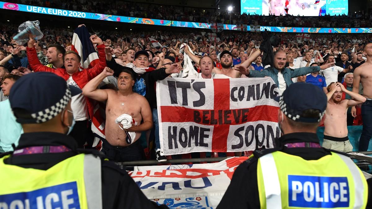 Uefa Inglaterra Laser