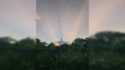 Yucatán: Nube en forma de Cristo se hace viral
