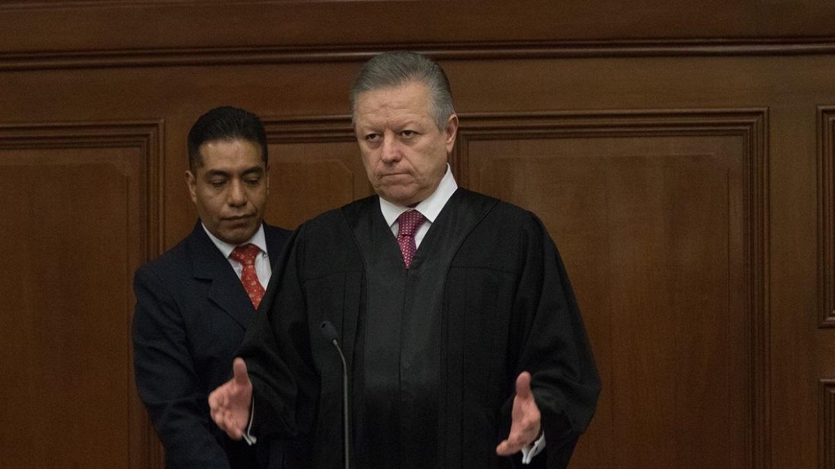 Arturo Zaldívar, de la SCJN, debe modificarse ley para combatir corrupción en TEPJF