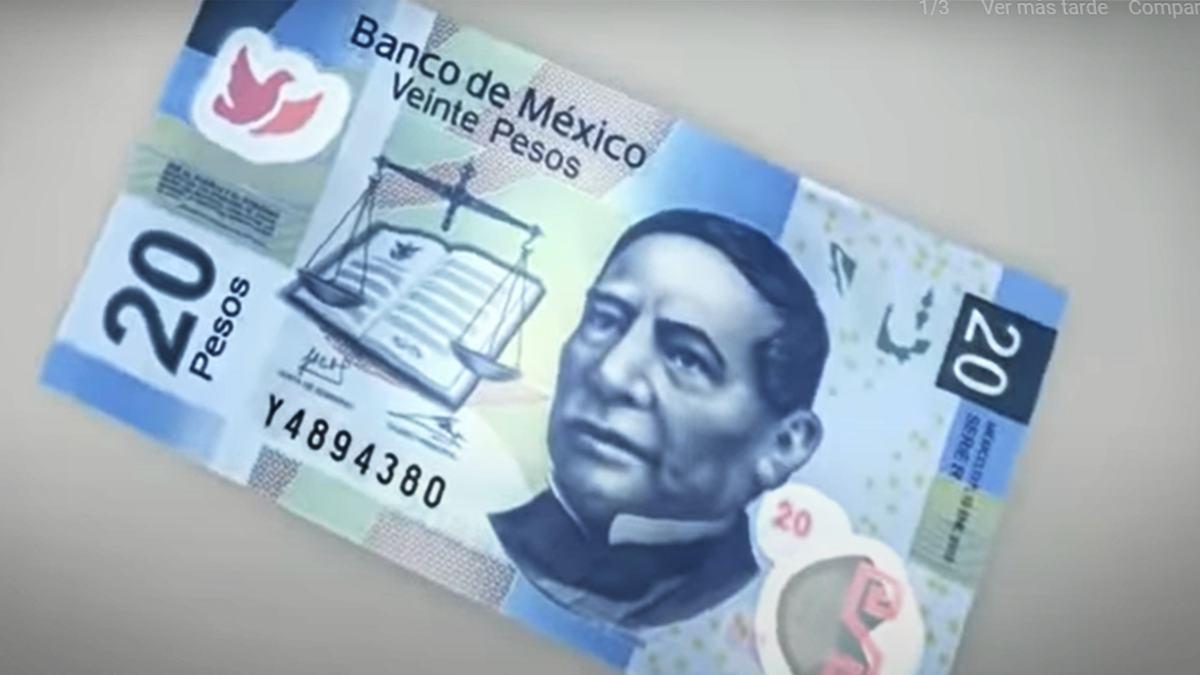 Benito Juárez se va del billete de 20 pesos; así será el nuevo diseño aprobado por Banxico
