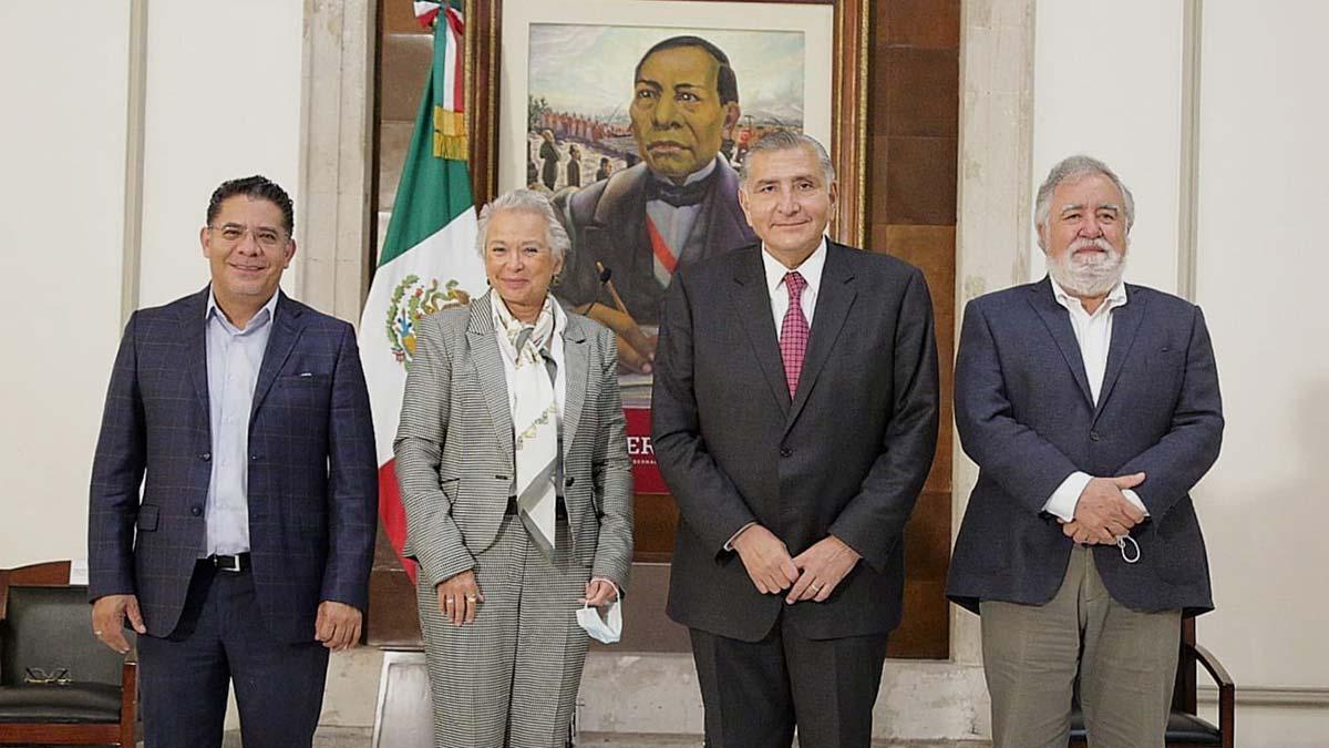 Asume Adán Augusto López titularidad de la Secretaría de Gobernación