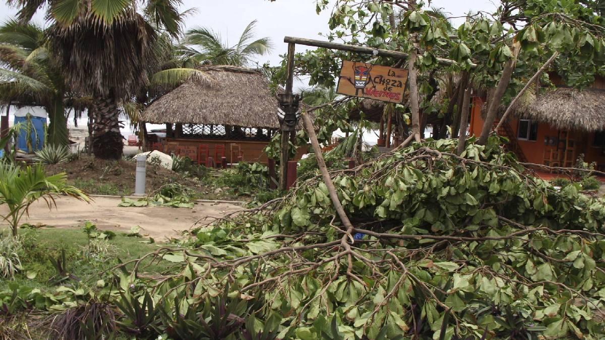 Nora dejó afectaciones en Bahía de Banderas, Nayarit - Uno TV