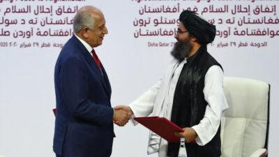 ¿Acuerdo de Dohan permitió la victoria de talibanes en Afganistán?