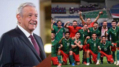 AMLO felicita a México por conseguir la medalla de bronce en Tokio 2020