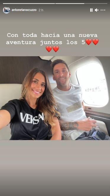 Antonela Messi Paris