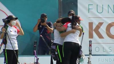 México gana tres medallas de oro en mundial de tiro con arco juvenil