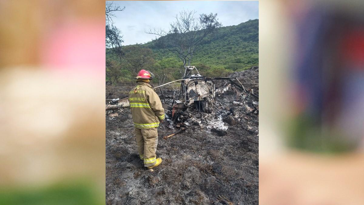 Jalisco: Se desploma avioneta en Atotonilco el Alto