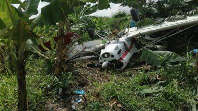 Tabasco: Se desploma avioneta en Teapa; muere piloto