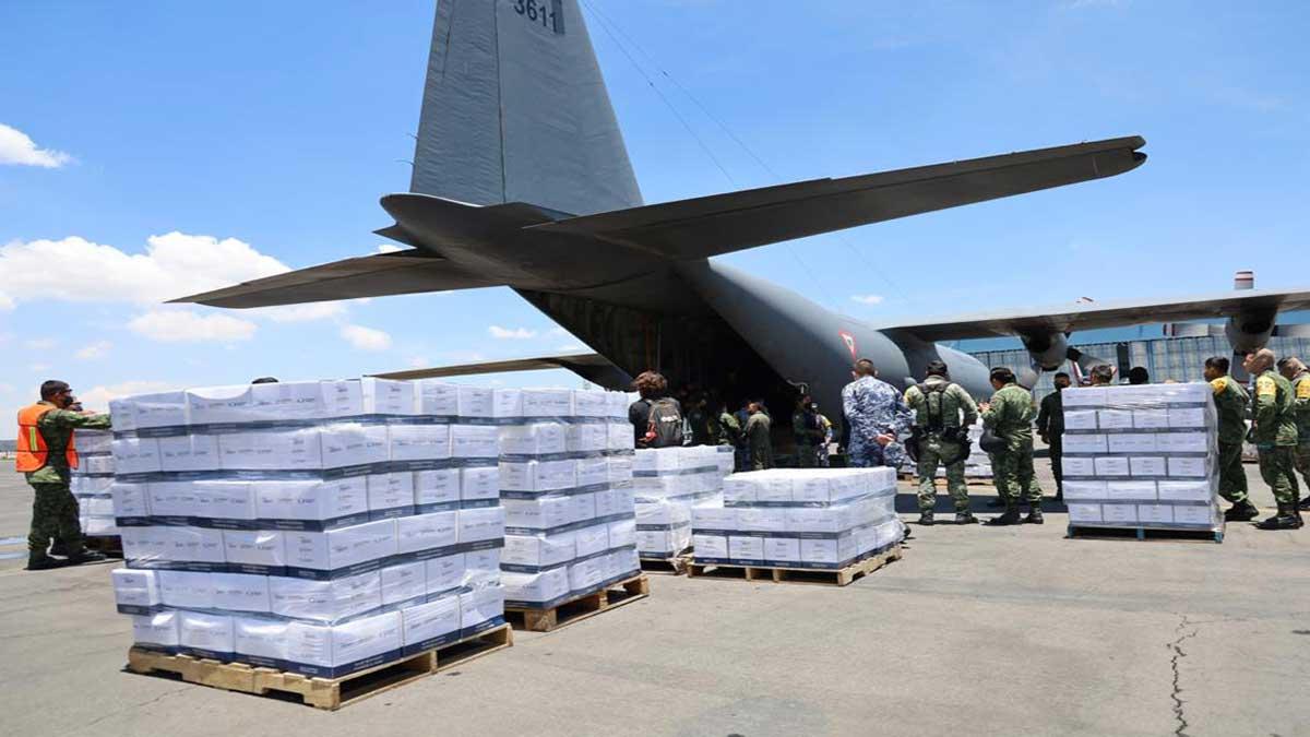 México envía ayuda humanitaria para Haití tras sismo