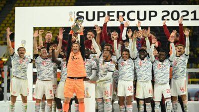 Bayern Munich gana la Supercopa de Alemania tras vencer al Borussia 3-1