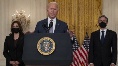 Joe Biden: 13 mil personas han sido evacuadas de Kabul