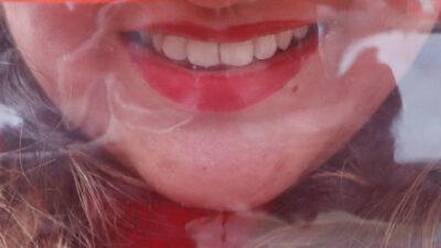 Ella es Samantha Ramsdell, la mujer con la boca más grande del mundo