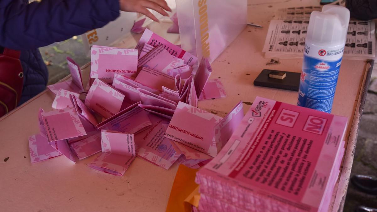 Consulta Popular 2021: denuncian manipulación de boletas en Orizaba