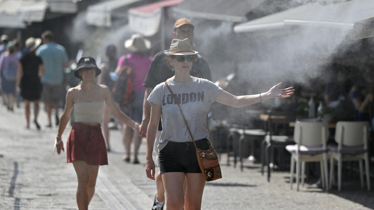 Científicos creen que las olas de calor son un efecto inequívoco del calentamiento global. Foto: AFP