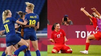 Canadá vs Suecia: cuándo y dónde ver la final del futbol femenil de Tokio 2020