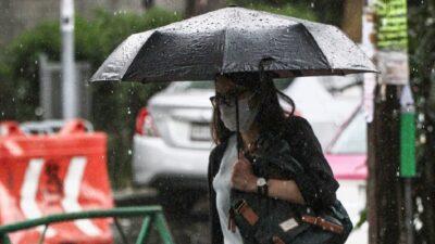 CDMX: Gobierno llama a tomar precauciones por las lluvias provocadas por Grace