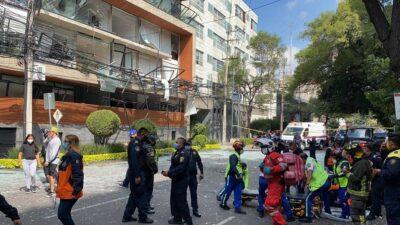 CDMX: Reportan explosión en edificio en Avenida Coyoacán