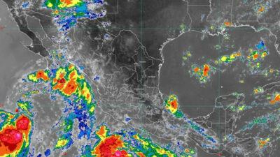 Clima en México hoy 10 de agosto 2021: lluvias fuertes por 2 ciclones