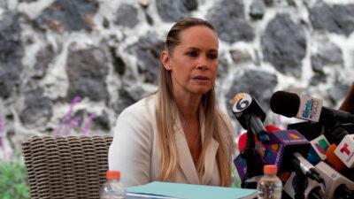 Ginny Hoffman podría terminar en prisión, afirma defensa de Héctor Parra