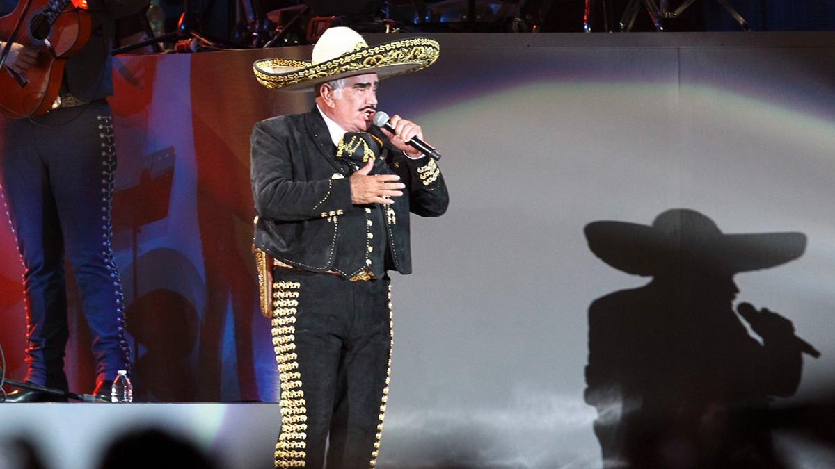 """Vicente Fernández: las cinco icónicas canciones del """"Charro de Huentitán"""""""