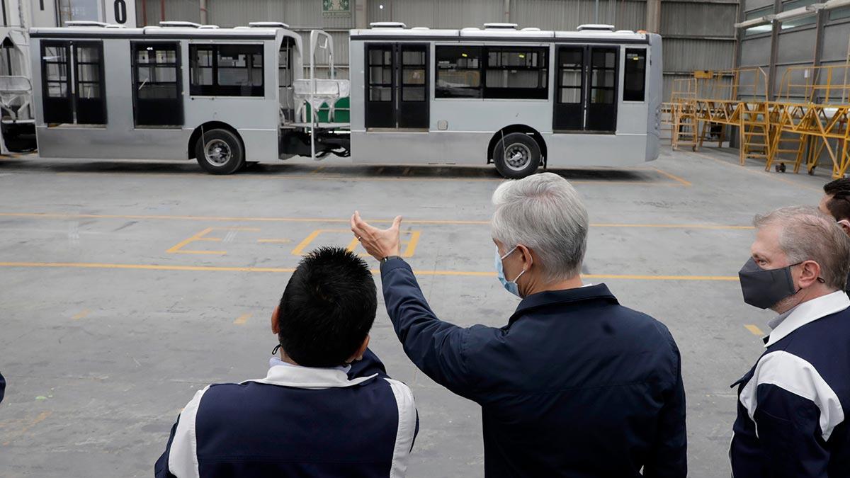Del Mazo anuncia ampliación de Línea 1 del Mexibús